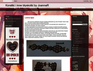 joannar-jewelry.blogspot.com screenshot