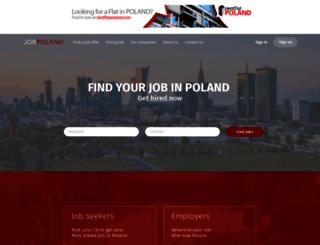 job-poland.com screenshot