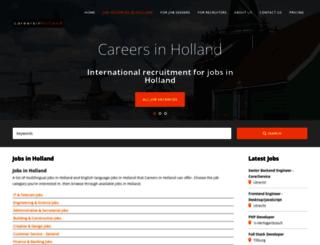 job-vacancies-in-holland.careersinholland.com screenshot