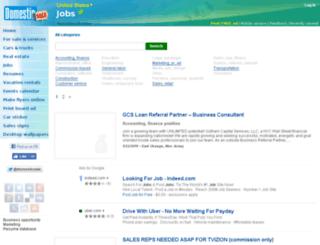 job.domesticsale.com screenshot