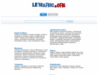 job.lemaroc.org screenshot