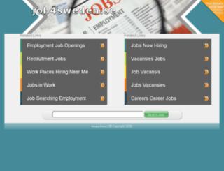 job4sweden.se screenshot