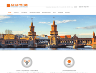 jobadpartner.com screenshot