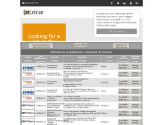 jobadvisor.miocv.it screenshot