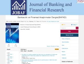 jobaf.gazi.edu.tr screenshot