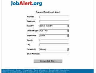 jobalert.org screenshot