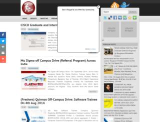 jobalerts4fresher.blogspot.in screenshot