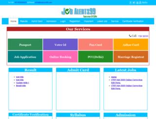 jobalerts99.com screenshot