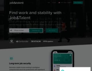 jobandtalent.com screenshot