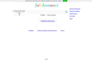 jobannunci.com screenshot