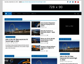 jobapplicationletters4u.com screenshot