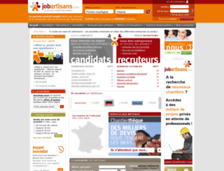 jobartisans.com screenshot