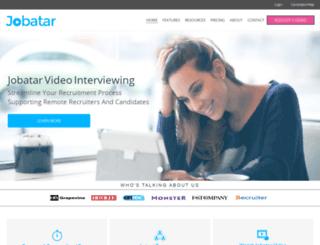 jobatar.co.uk screenshot