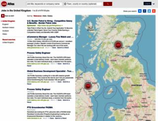 jobatlas.co.uk screenshot
