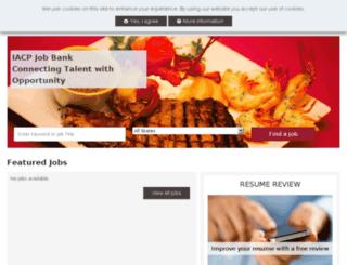 jobbank.iacp.com screenshot
