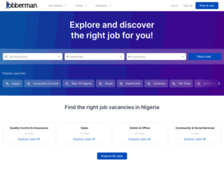 jobberman.com screenshot