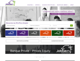 jobberry.com screenshot
