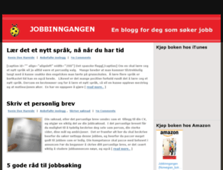 jobbinngangen.no screenshot