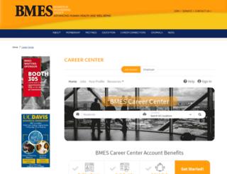 jobboard.bmes.org screenshot