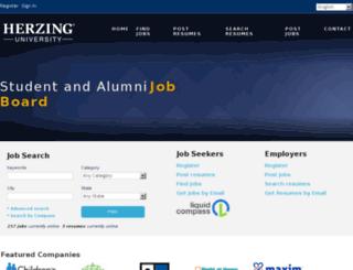 jobboard.herzing.edu screenshot