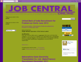 jobcentre-online.blogspot.com screenshot