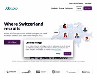 jobcloud.ch screenshot