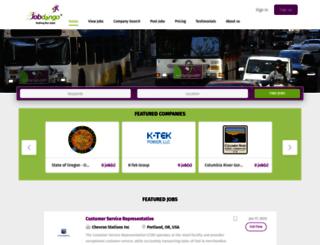 jobdango.com screenshot