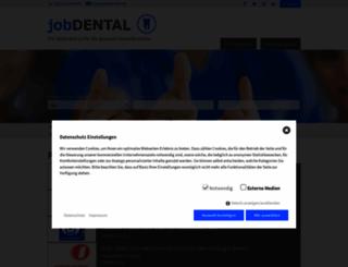 jobdental.de screenshot
