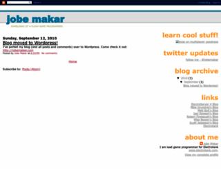 jobemakar.blogspot.com screenshot