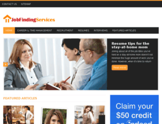 jobfindingservices.com screenshot