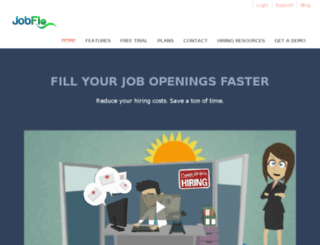jobflo.com screenshot