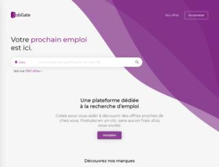 jobgate.fr screenshot