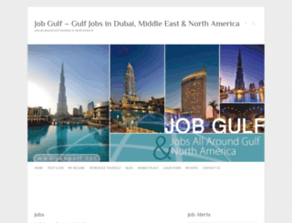 jobgulf.net screenshot