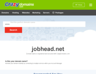 jobhead.net screenshot