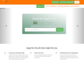 jobinbox.herokuapp.com screenshot