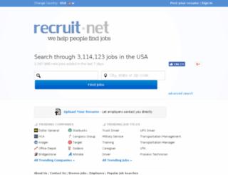 jobindex.recruit.net screenshot
