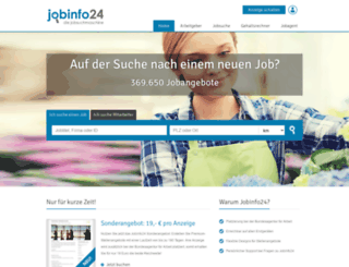 jobinfo24.de screenshot