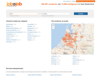 jobisjob.nl screenshot
