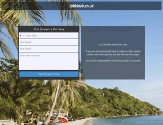 jobkiosk.co.uk screenshot