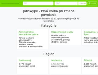 jobkralle.sk screenshot