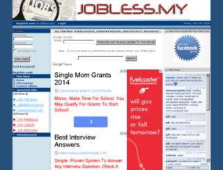 jobless.my screenshot