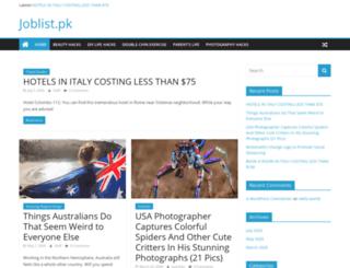 joblist.pk screenshot