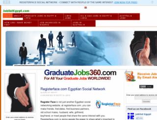 joblistegypt.com screenshot
