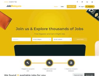 jobmalaysia.com.my screenshot