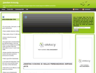 jobmall.blogspot.com screenshot