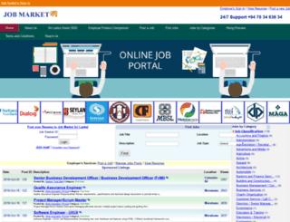 jobmarket.lk screenshot