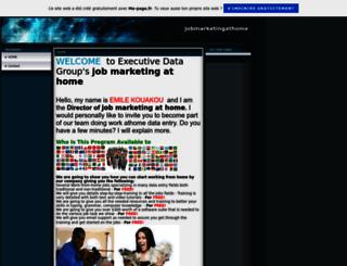 jobmarketingathome.fr.gd screenshot