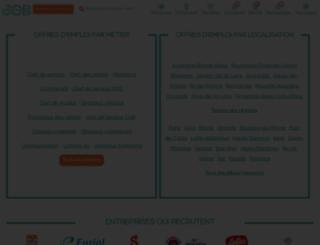 jobmarketingvente.com screenshot