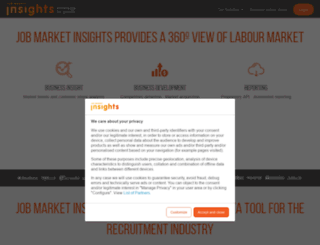 jobmarketinsights.com screenshot