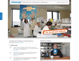 jobmassage.nl screenshot